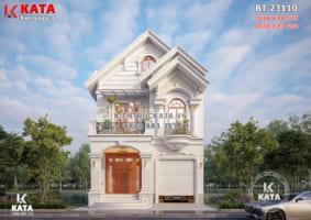 Chiêm ngưỡng mẫu nhà 2 tầng mái Thái đẹp lung linh tại Yên Bái – BT 23110