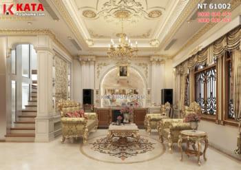 Xu hướng thiết kế nội thất tân cổ điển đẹp HOT nhất 2021