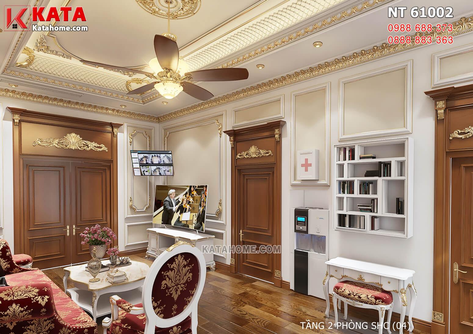 Hình ảnh: Thiết kế nội thất tân cổ điển cho phòng sinh hoạt chung