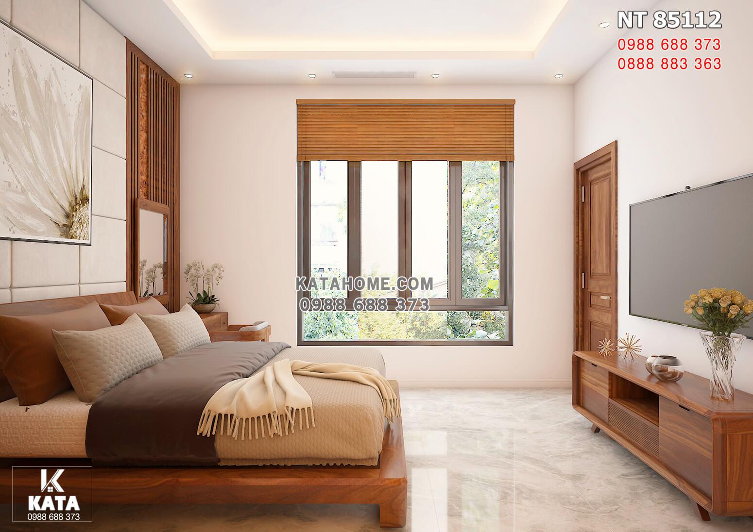 Hình ảnh: Nội thất gỗ óc cho cho không gian phòng ngủ 2