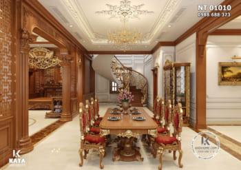 Khám phá không gian nội thất tân cổ điển đẹp lộng lẫy – Mã số NT 01010