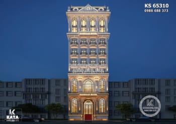 Khách sạn tân cổ điển đẹp đẳng cấp 4 sao – KS 65310