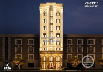 Giải pháp thiết kế khách sạn tân cổ điển 2 sao đẳng cấp – KS 65311