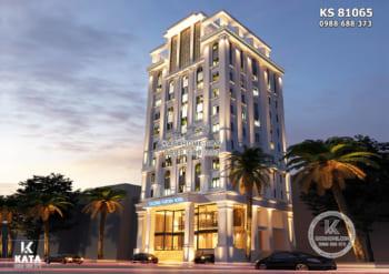 Mẫu thiết kế khách sạn tiêu chuẩn 3 sao mới nhất tại Hạ Long – KS 81065