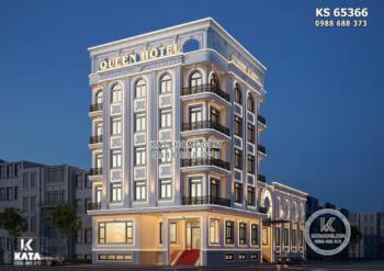 Thiết kế khách sạn đẹp kèm trung tâm tiệc cưới tại Vĩnh Phúc – KS 65366