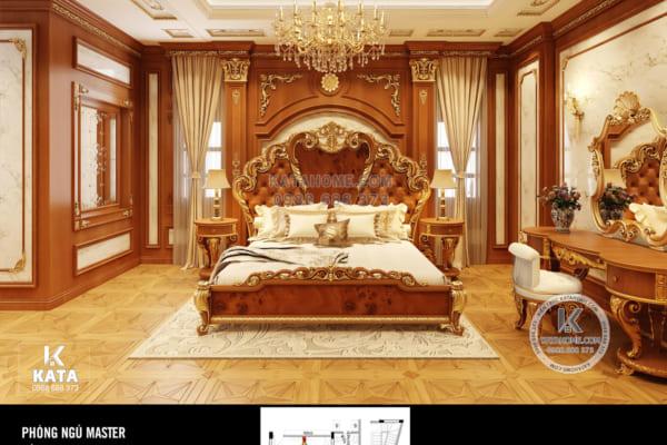 Hình ảnh: Không gian nội thất tân cổ điển hoàng gia có sức hút lớn - NT 01036