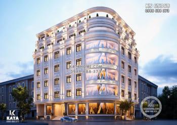 Thiết kế tòa nhà văn phòng kinh doanh thương mại quý phái và đẳng cấp – KS 65368